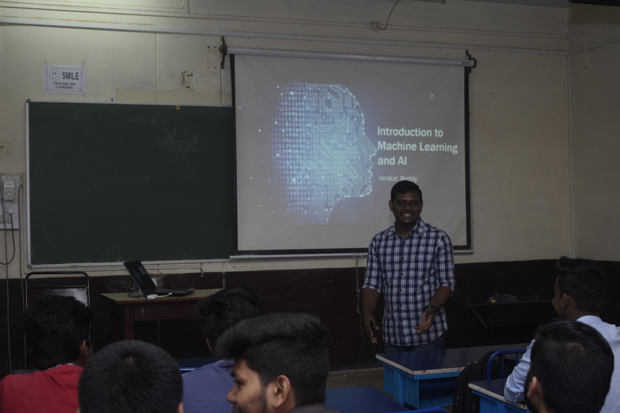 Machine Learning at GVM'S BCA